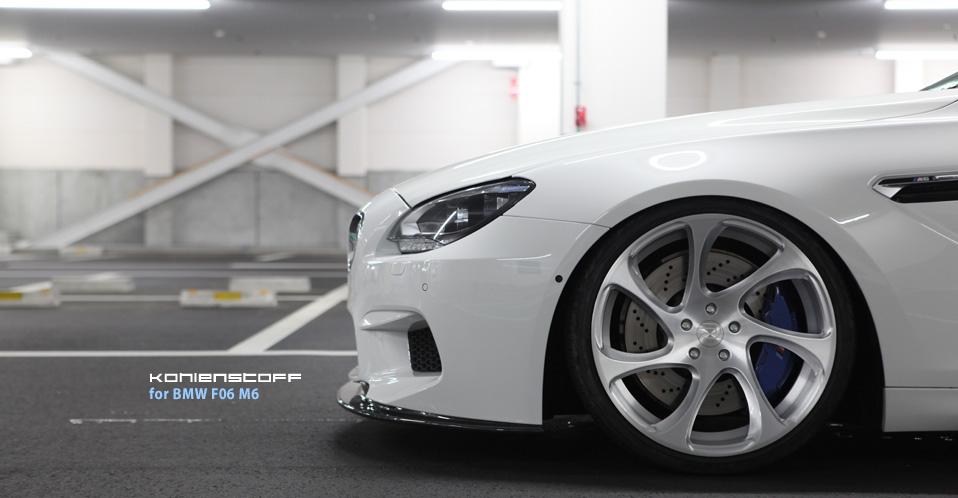 Kohlenstoff for BMW F12 M6