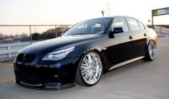 Kohlenstoff BMW E60 Msports フロントリップスポイラー